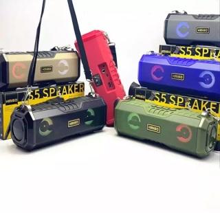 [Siêu Phẩm BH 24T] Hàng Bãi Mỹ, Loa Bluetooth,Loa bluetooth di động, Loa Bluetooth KIMISO S5 - Loa siêu bass, Công suất Lớn, ,đèn led độc đáo thay đổi theo nhạc Bảo Hành Uy Tín thumbnail