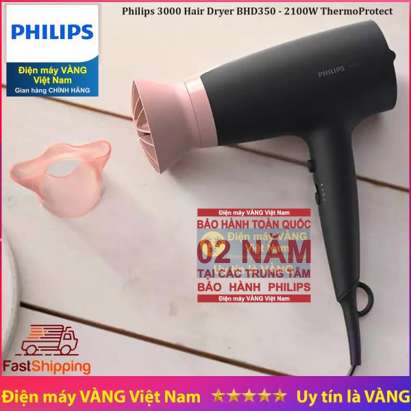 Máy sấy tóc ion thế hệ mới Philips BHD350 giá rẻ