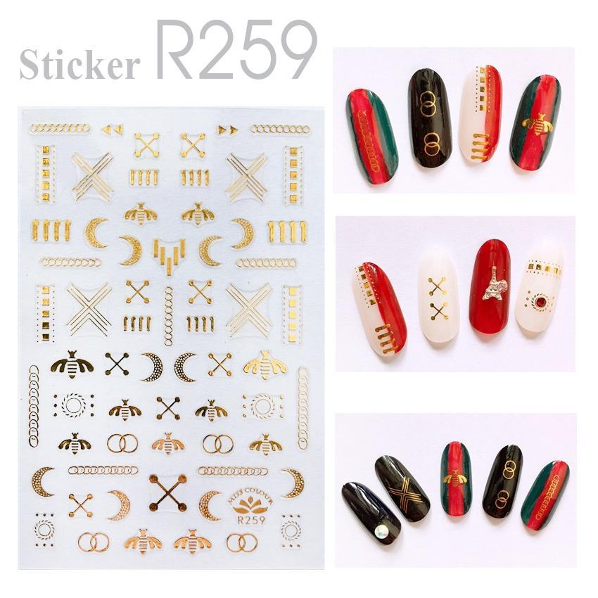 Sticker dán móng tay R259 DH7831 tốt nhất