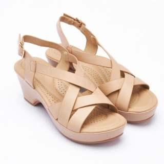 Giày nữ đế cao Pierre Cardin PCWFWSE138BEG màu be