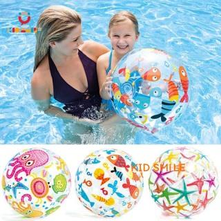 Đồ chơi trẻ em mùa hè bóng phao INTEX chơi dưới nước họa tiết đại dương đẹp mắt, đướng kính 35 cm giúp trẻ phát triển thể lực và vui chơi thư giãn thumbnail