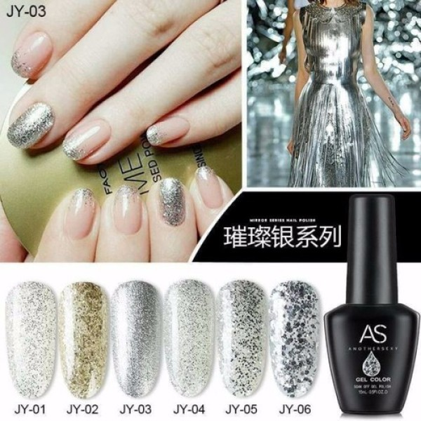 Sơn gel AS bền màu cực kì mướt 15ML (dành cho tiệm nail chuyên nghiệp) - JY giá rẻ