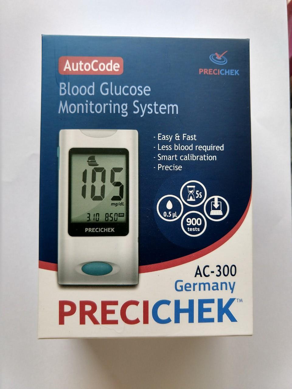 Máy đo đường huyết Precicheck  tự động của Đức nhập khẩu