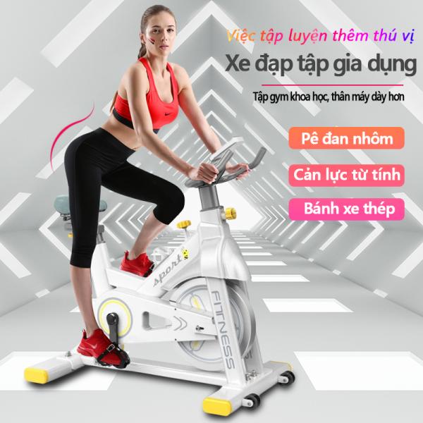 Bảng giá Xe đạp tập đa năng xe đạp tập gym tại nhà đa năng cản lực từ tính chống mài mòn bàn đạp nhôm bánh xe thép dụng cụ tập gym đa năng Keep Going Max