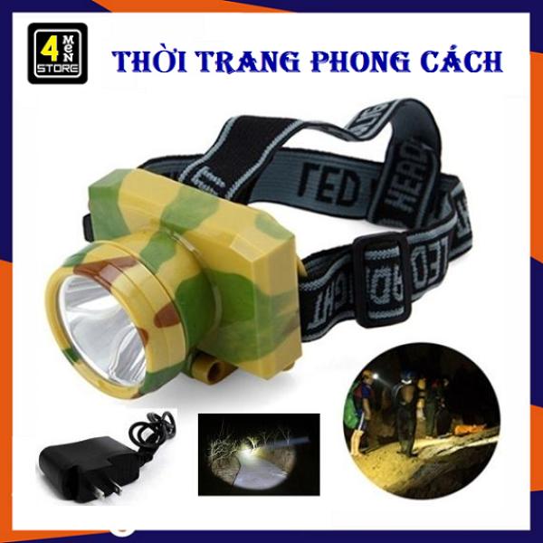 ⚡ Siêu Sáng  ⚡ Đèn Pin Đeo Đầu Siêu Sáng - Đèn Pin Đi Soi Ban Đêm Sạc Điện DE-91