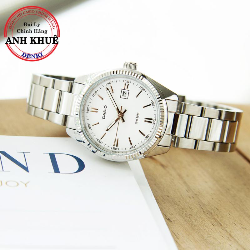 [HOT SALE] Đồng hồ nữ dây kim loại Casio Standard LTP-1302D-7A1VDF chính hãng Anh Khuê