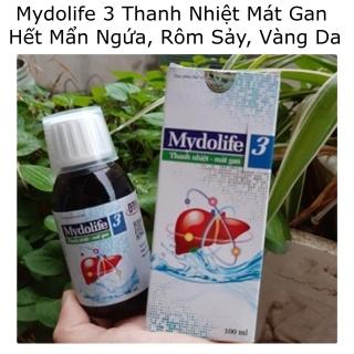 Mydolife 3 Thanh Nhiệt Mát Gan Hết Mẩn Ngứa Rôm Sảy Vàng Da 100ml thumbnail