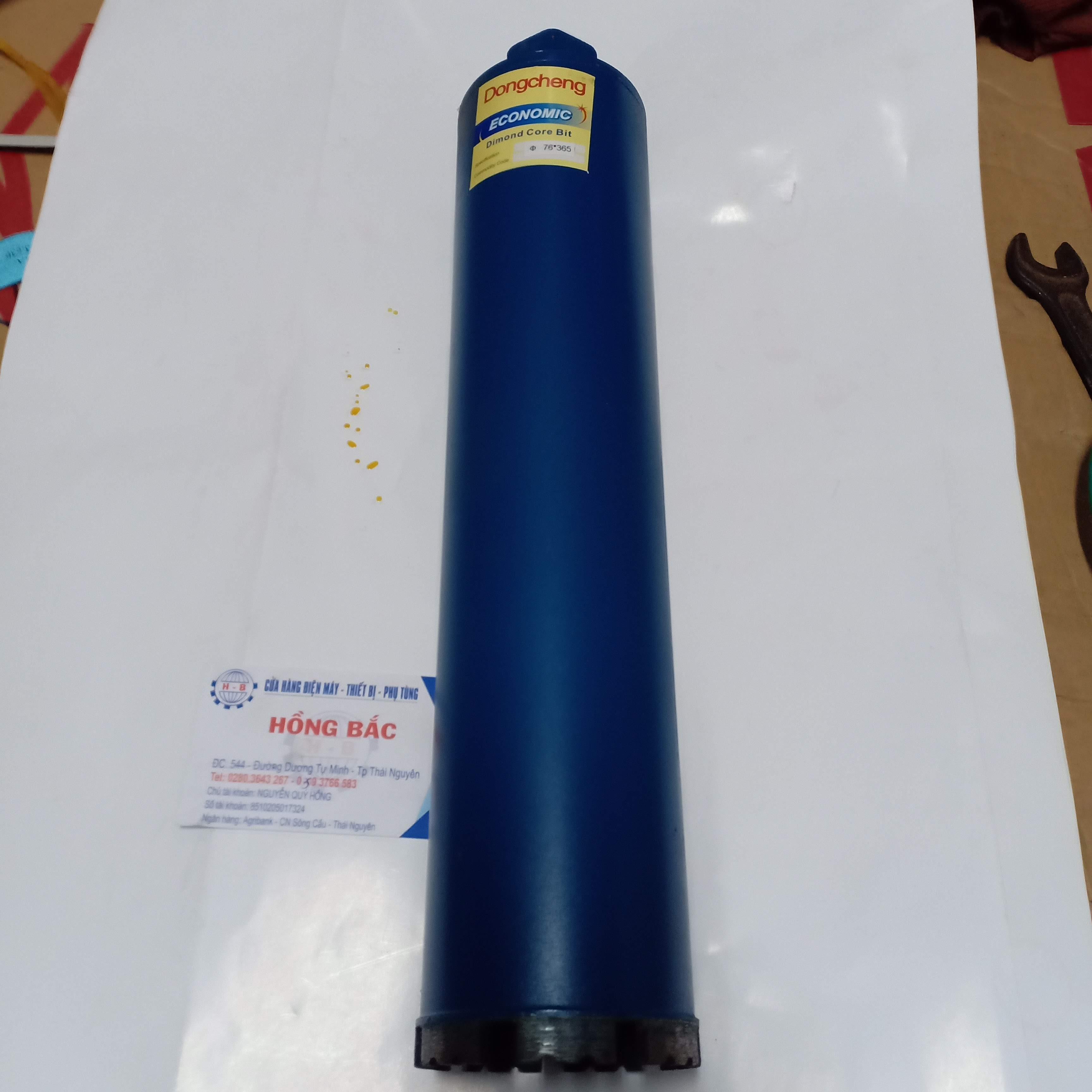 Mũi khoan rút lõi Dongcheng kích thước 63x365mm lưỡi hợp kim chuyên dụng cho thợ điện nước ,điều hòa
