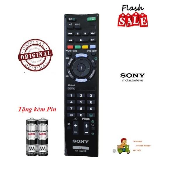Bảng giá Remote Điều khiển Tivi Sony RM-ED057 LCD/LED SMART TV OLED- Hàng chính hãng 100% Tặng kèm Pin