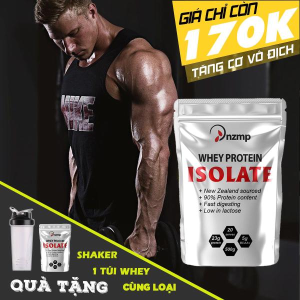 Sữa Tăng Cơ - Whey Isolate Protein - COMBO 2 túi + Tặng bình lắc