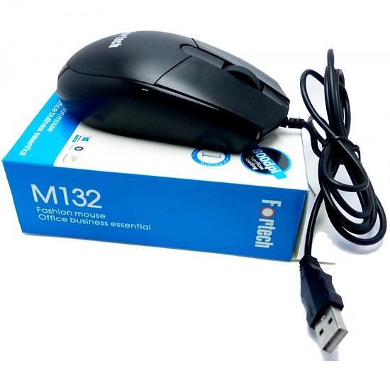 Chuột dùng cho máy tính có dây Fortech M132