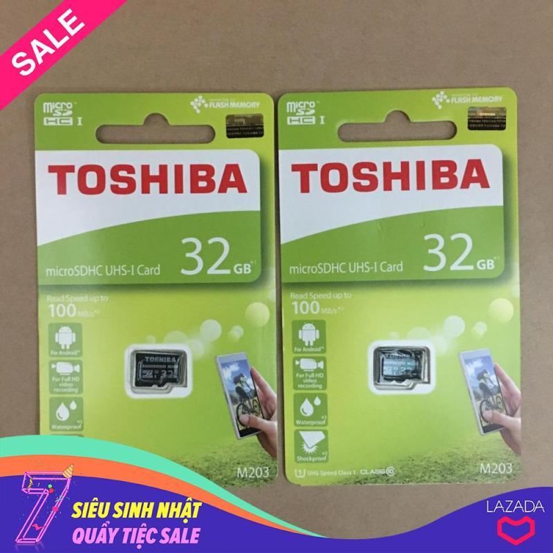 Thẻ nhớ micro SD toshiba 32GB M203 SDHC 100Mb/s class 10