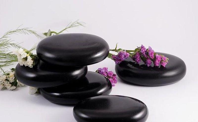 Bộ 5 Viên Đá Nóng Massage Ovan Trung 6x8x1.8cm