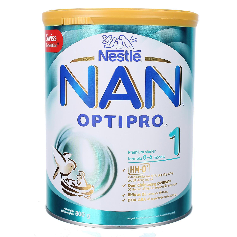 Sữa Nan Optipro 1 800g (0-6 tháng)