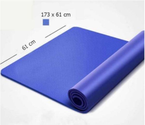 Thảm tập yoga / Thảm tập gym chống trơn trượt cao cấp VPR D3 tặng dây ràng