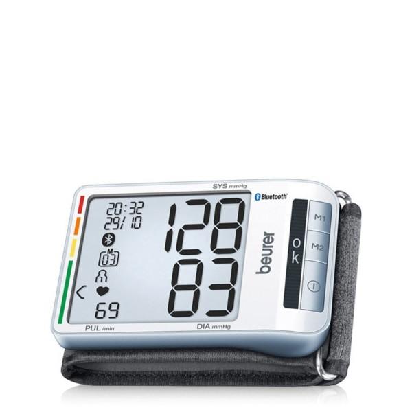 Máy đo huyết áp cổ tay kết nối bluetooth Beurer BC85 - hàng chính hãng cao cấp