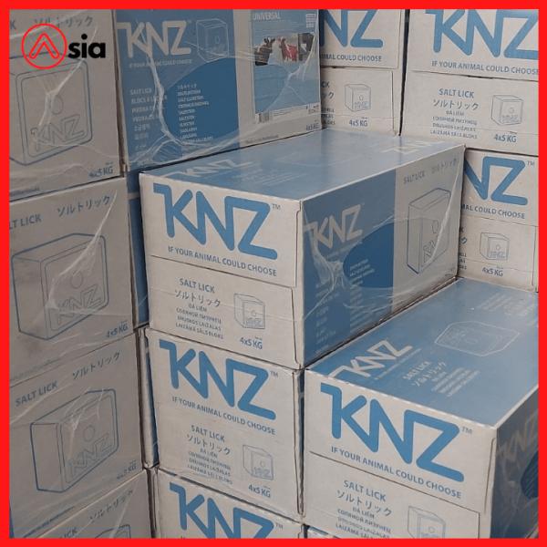 Thùng Đá liếm chăn nuôi KNZ Viên 5kg xuất xứ Hà Lan