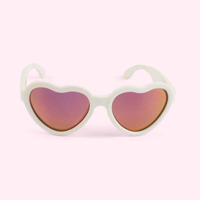 Giá bán Kính chống tia cực tím có tròng kính phân cực cho bé Babiators – The Sweetheart, tráng gương hồng, 0-2 tuổi