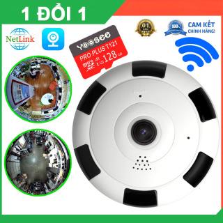 Camera Wifi Ốp trần V380 PRO VR 360 ĐỘ - Xem toàn cảnh 3D, không dây, hình ảnh full HD - camera chống trộm , camera an ninh , camera trong nhà , camera ngoài trời thumbnail