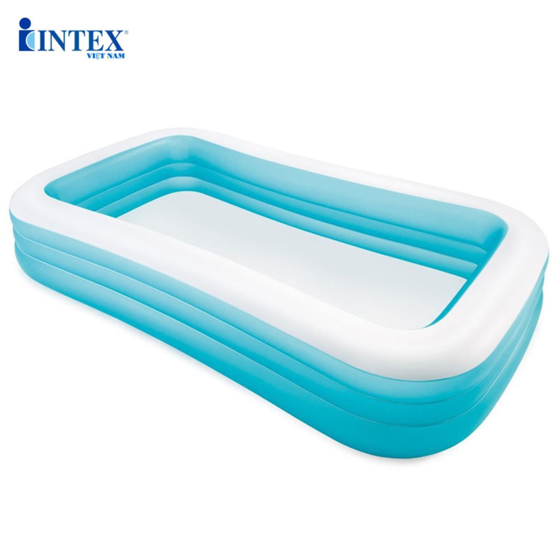 Giá Tiết Kiệm Khi Sở Hữu Bể Bơi Phao Gia đình INTEX 58484 - Bể Bơi Trẻ Em, Bể Bơi Gia đình, Do Choi Tre Em