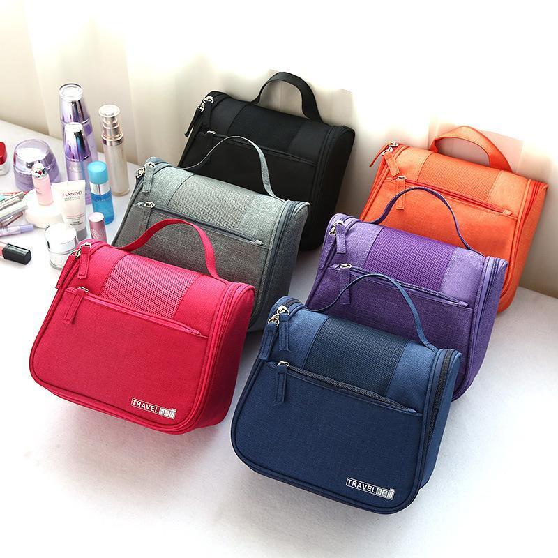 Túi đựng mỹ phẩm thông minh Travel Bag vãi lưới thoáng khí, 5 ngăn đựng tiện dụng ( Nhiều màu) cao cấp