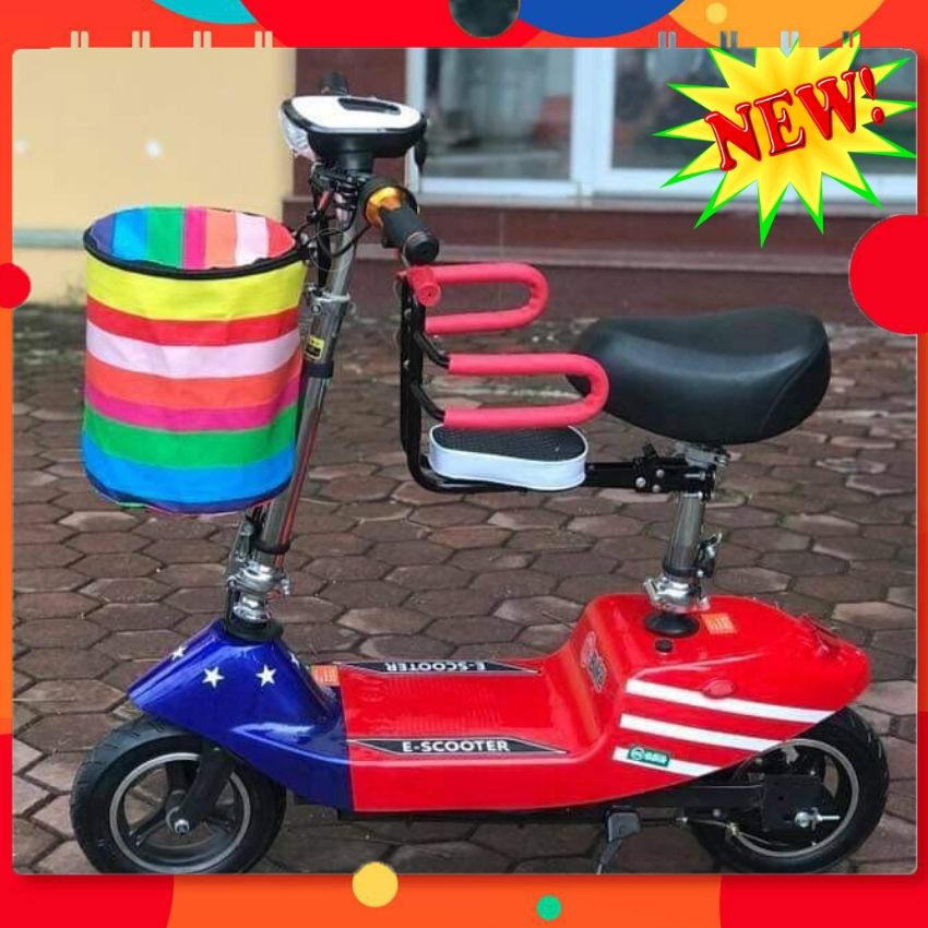 Xe điện mini giá rẻ, xe điện dành cho người già, xe đạp điện scooter dành cho học sinh,