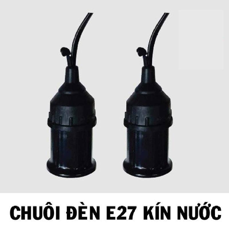 Bảng giá Bộ 5 đuôi đèn treo tiêu chuẩn kín nước E27 Đen
