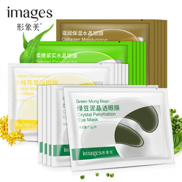 Mặt nạ dưỡng da vùng mắt Images nội địa Trung - Giúp thư giãn giảm quầng thâm mệt mỏi và sáng da (1 mask) giá rẻ