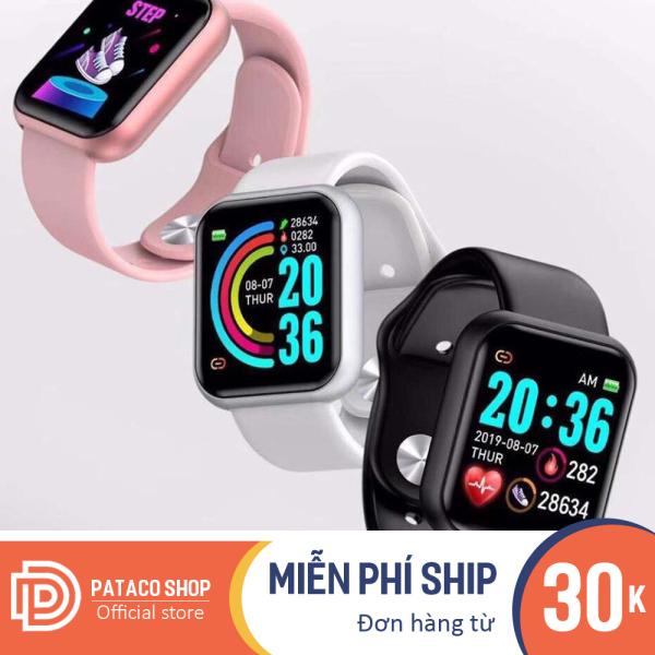 Đồng hồ thông minh Kỹ thuật số Y68 đầy đủ các chức năng, không thấm nước đồng hồ bảo hành 6 tháng bán chạy