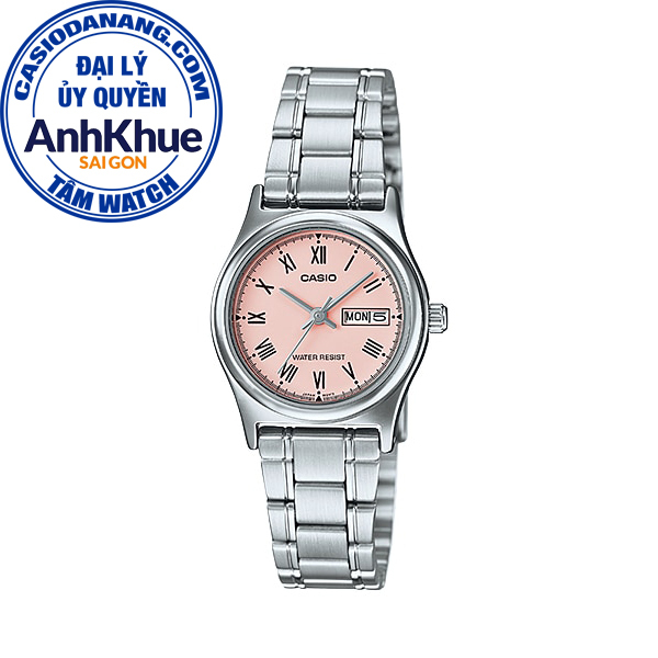 Đồng hồ nữ dây kim loại Casio Standard chính hãng Anh Khuê LTP-V006D-4BUDF (25mm)