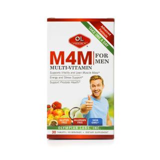Viên Uống Bổ Sung Vitamin Cho Nam Giới Olympian Labs M4M Multi-Vitamin For Men 30 Viên thumbnail