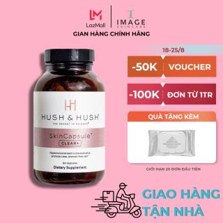 Viên uống ngăn ngừa mụn Image Hush & Hush Skincapsule Clear+ thumbnail