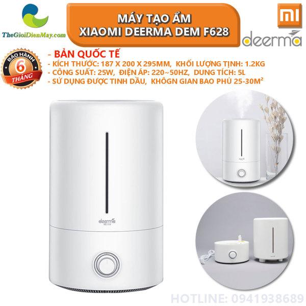 [Bản quốc tế] Máy tạo ẩm Xiaomi Deerma DEM F628 (sử dụng được tinh dầu) - Bảo hành 6 tháng - Shop Thế Giới Điện Máy