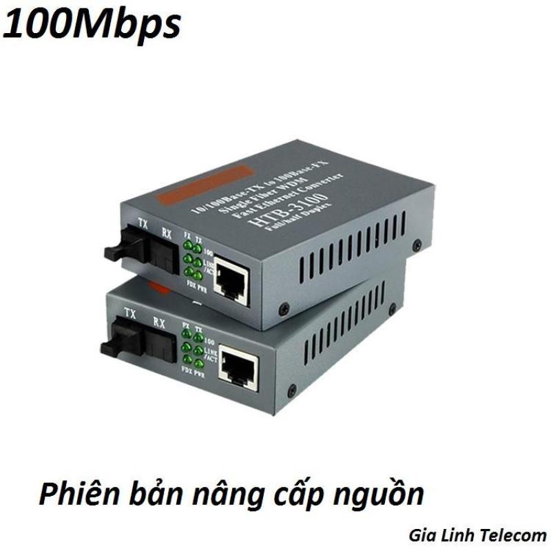 Bảng giá Bộ Chuyển Đổi Quang Điện Netlink 3100 AB - 1 Cặp - Converter Quang Netlink HTB 3100AB 100Mbps Phong Vũ