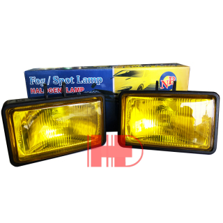 2 Đèn gầm Đài Loan Cao Cấp Thủy TInh Vàng trắng - H3-12V - 55W Vuông 5515 thumbnail