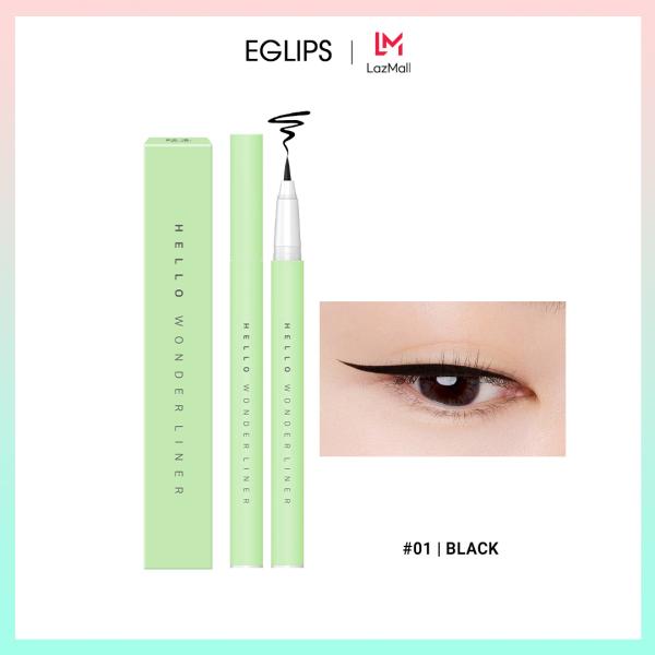 Kẻ mắt lâu trôi Eglips Hello Wonder Liner 0.4g