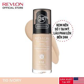 Kem nền kiềm dầu lâu trôi số 1 tại Mỹ Revlon Colorstay 24h SPF 15 30ml - 110 Ivory (HSD dưới 8 tháng) thumbnail