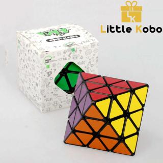 Rubik Biến Thể Lanlan 4x4 8-Axis Skewb Diamond Octahedron Rubik 8 Mặt Bát Diện Đều thumbnail