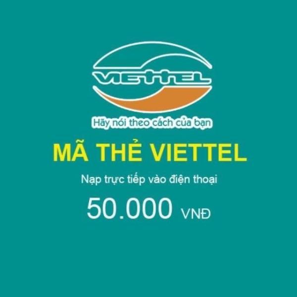 Giá Thẻ Viettel 50