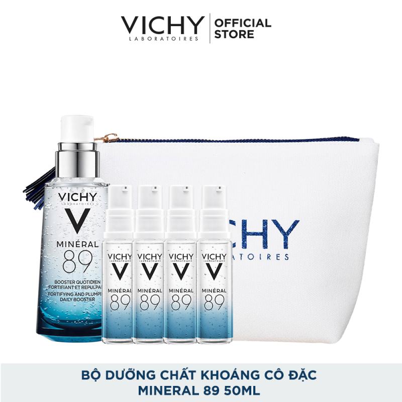 Bộ dưỡng Chất (Serum) Khoáng núi lửa cô đặc Vichy Mineral 89 Giúp Da Sáng Mịn Và Căng Mượt giá rẻ