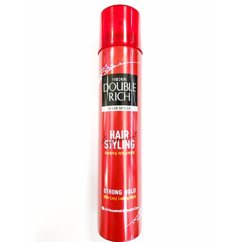 Keo Giữ Nếp Tóc Double Rich Hair Spray Chai 170ml giá rẻ