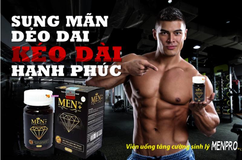 Tăng cường sinh lý nam cực mạnh MenPro - Giúp bổ thận tráng dương, tăng cường sinh lực mạnh hơn, bền bỉ hơn