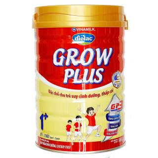 [CHÍNH HÃNG] Sữa Bột VINAMILK DIELAC GROW PLUS 1+ 2+, hộp thiếc 900g, date mới nhất thumbnail