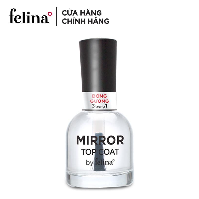 Sơn bóng Felina 3 trong 1 18ml - sơn bóng gương, bảo vệ móng và màu sơn nhờ tính năng chống tia UV, nuôi dưỡng và tái tạo móng với dưỡng chất Keratin, màu sắc đa dạng