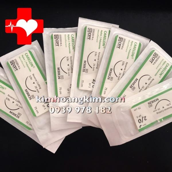 Chỉ phẫu thuật Carelon (Nylon) CPT 2/0 cao cấp
