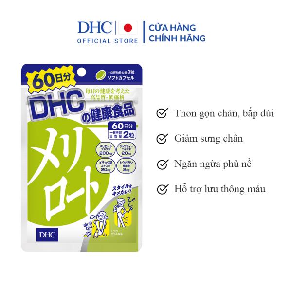 Viên Uống DHC Melilot Hỗ Trợ Giảm Mỡ Đùi 60 Ngày giá rẻ