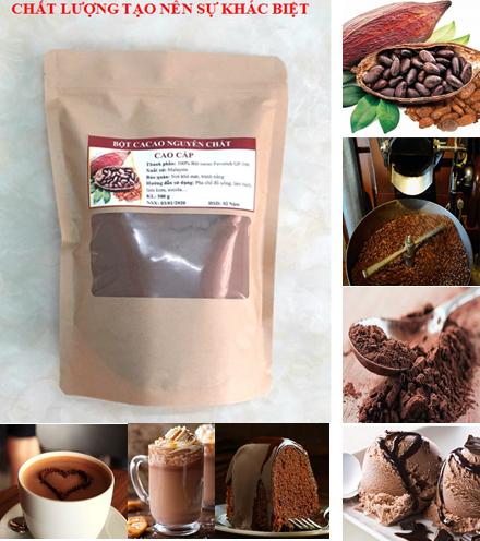 Bột Cacao Nguyên Chất Cao Cấp 500g (có Giấy Kiểm định) Ưu Đãi Bất Ngờ