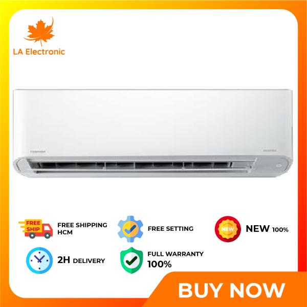 Installment 0% - Máy lạnh Toshiba 2.0 HP RAS-H18C3KCVG-V -Miễn phí vận chuyển HCM