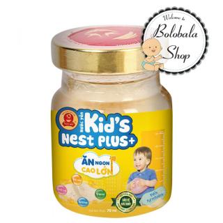 Nước Yến Sào Cao Cấp Thiên Việt Kid s Nest Plus+ Hương Vị Tự Nhiên Hủ 70ml (Ăn ngon cao lớn) thumbnail