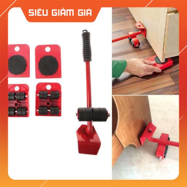 [ CAM KẾT CHẤT LƯỢNG ] Bộ Dụng Cụ Nâng Đồ Vật Đa Năng / Bộ dụng cụ có thể giúp bạn nâng và di chuyển đồ đạc với kích thước cồng kềnh và cân nặng có thể lên tới 100-200kg một cách dễ dàng ( màu đỏ )